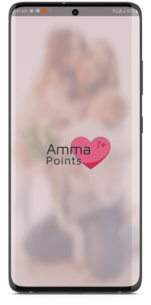 Amma points app splash screen